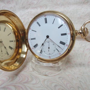 1873 Henry-Daniel Captain 1/4hour Repeater Pocket Watch