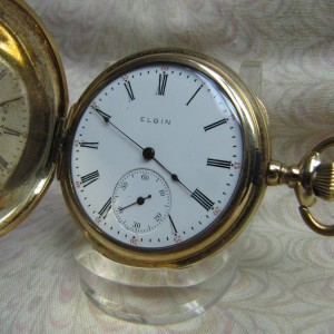 1906 Elgin Hunter Case Mechanical