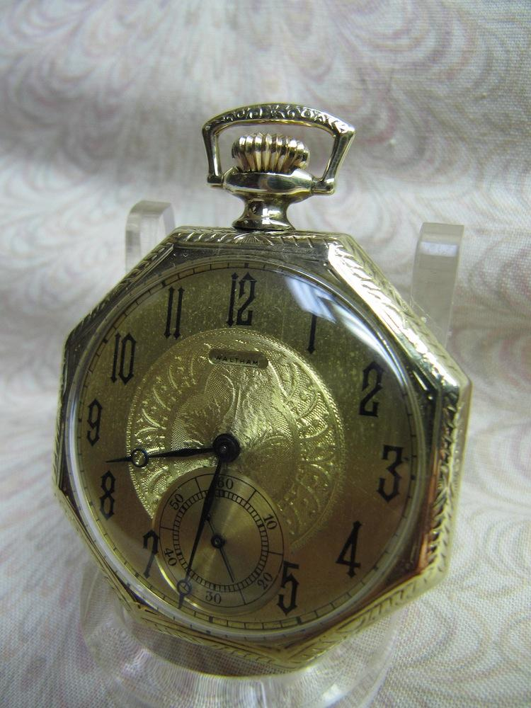 1920s Waltham Open Face Mechanical