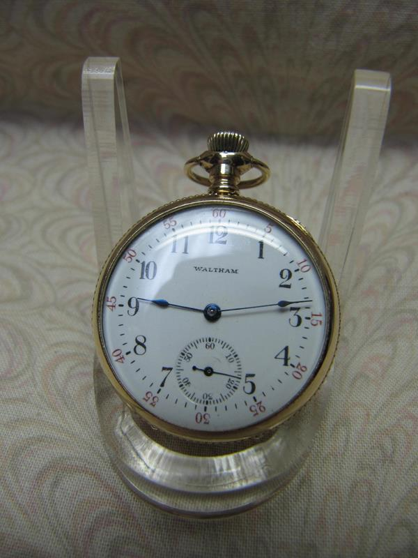 1905 Waltham Open Face Pendant Mechanical