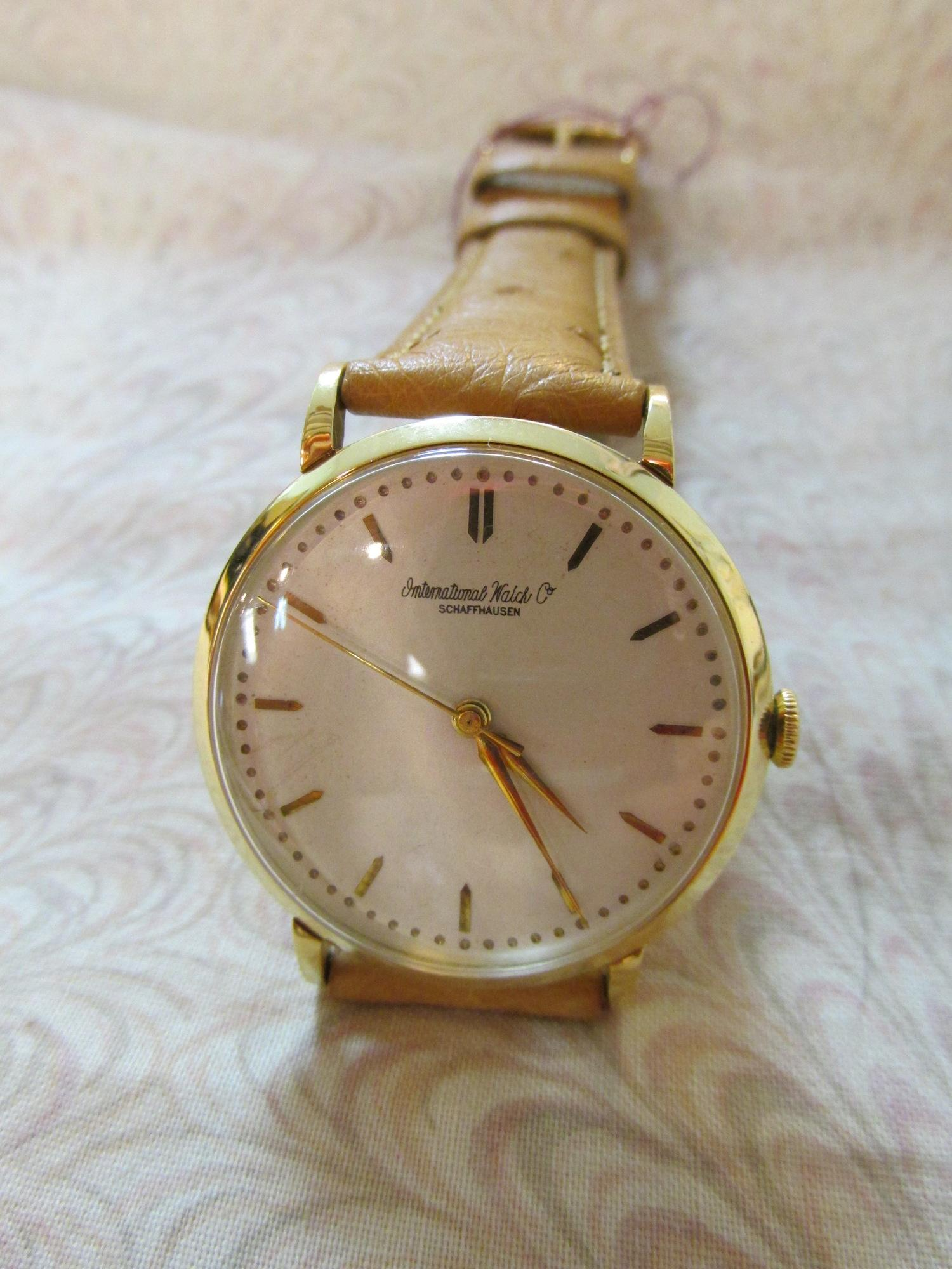 1953 Reconditioned International Watch Company
