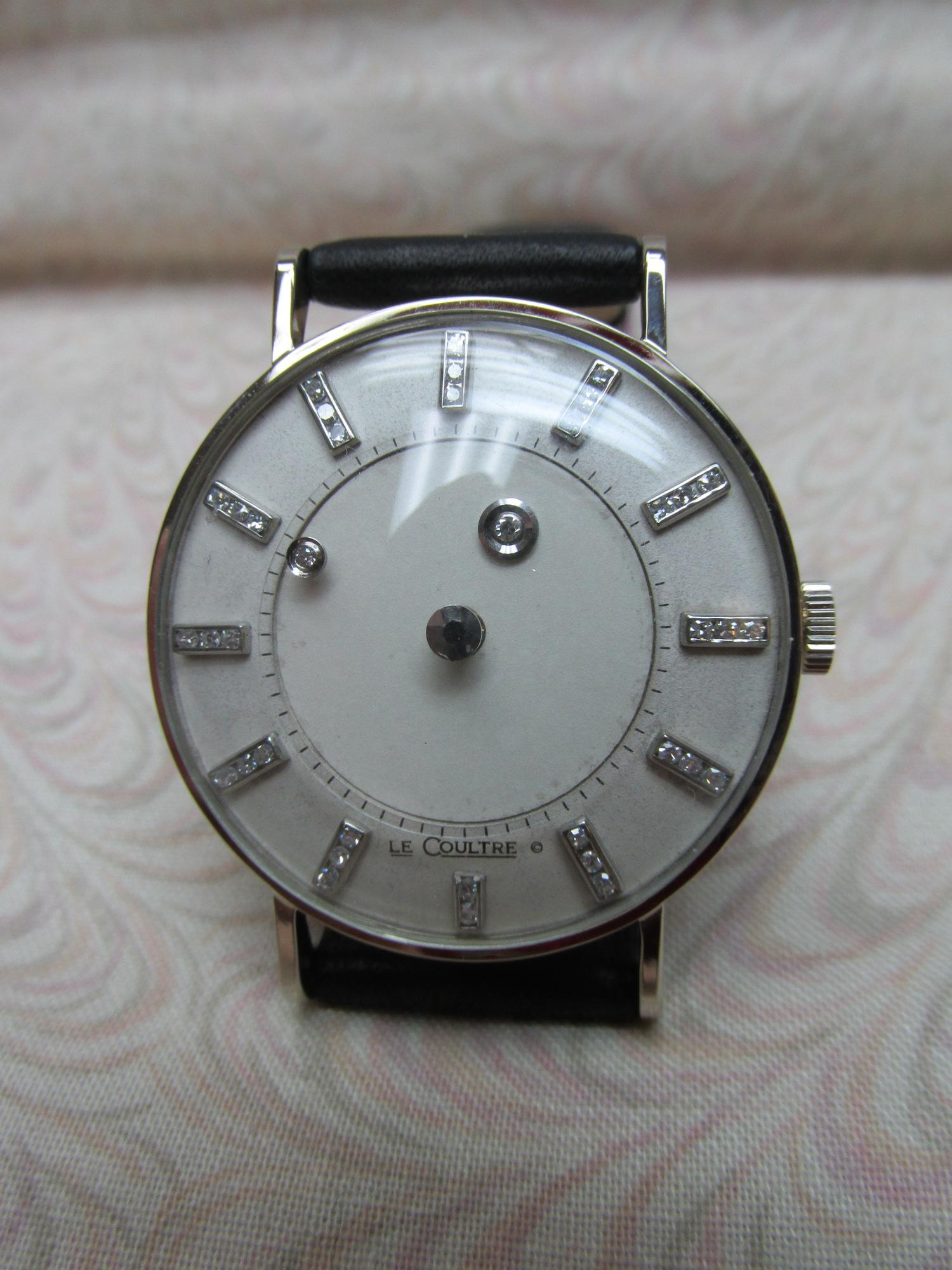 1950s Reconditioned LeCoultre Mystery Dial